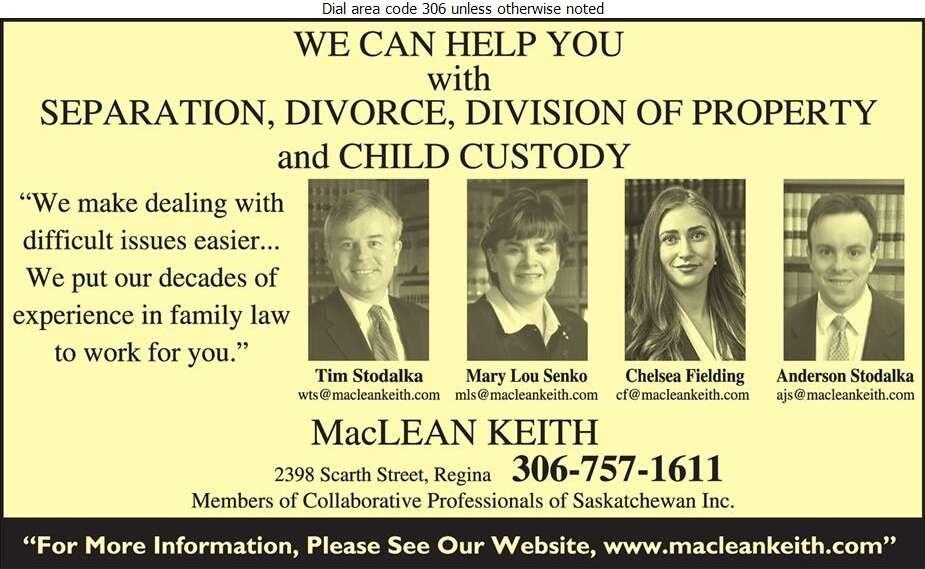 MacLean Keith - Lawyers Digital Ad