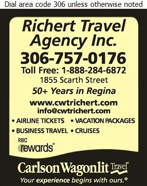 Carlson Wagonlit Travel-Richert Travel Agency Inc - Travel Service Digital Ad