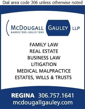 McDougall Gauley LLP (Kenneth A Ready QC) - Lawyers Digital Ad
