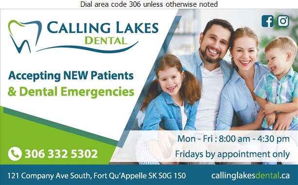 Calling Lakes Dental Clinic - Dentists Digital Ad