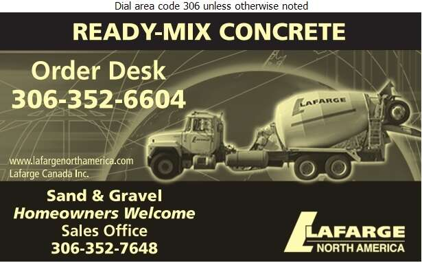 Lafarge Canada Inc - Concrete Ready Mixed Digital Ad
