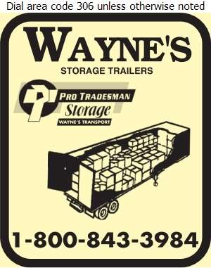Wayne's Pro/Storage - Storage- Household & Commercial Digital Ad