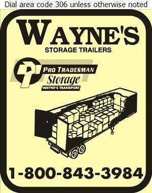 Wayne's Pro/Storage - Rental Service General Digital Ad