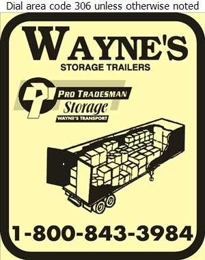 Wayne's Pro/Storage - Rental Service General Digital Ad