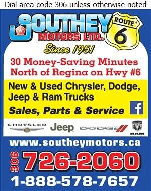 Southey Motors Ltd - Auto Dealers New Cars Digital Ad