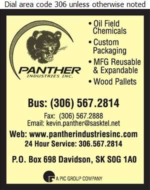 Panther Industries Inc - Pallets & Skids Digital Ad