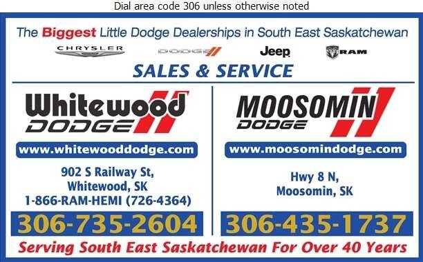 Whitewood Chrysler Dodge Jeep Ram - Auto Dealers New Cars Digital Ad