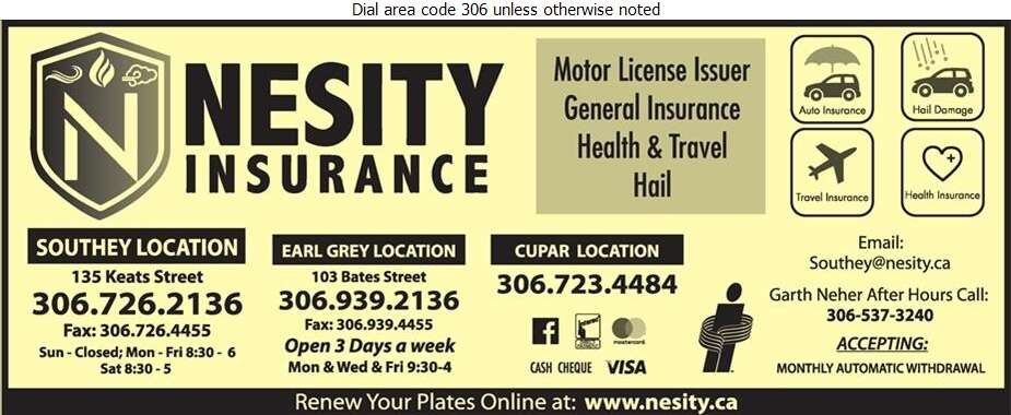 Southey Agencies Inc - Insurance Digital Ad