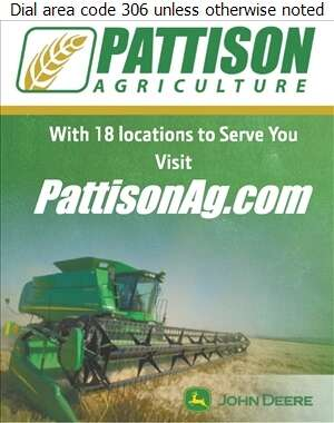 Pattison Agriculture - Agricultural Implements Sales, Service & Parts Digital Ad