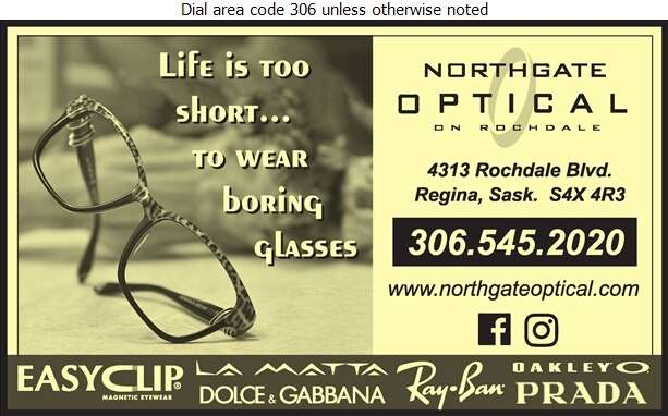 Northgate Optical on Rochdale (Across From Superstore) - Optical Dispensers Digital Ad