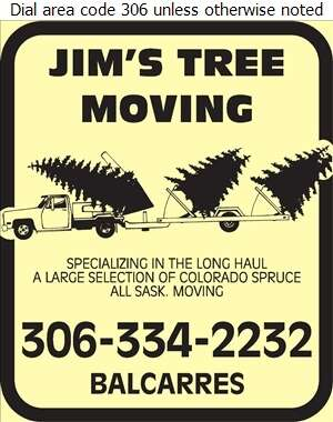 Jim's Tree Moving - Tree Service & Stump Removal Digital Ad
