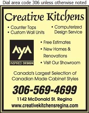 Creative Kitchens - Kitchen Cabinets & Equipment Digital Ad