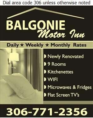 Balgonie Motor Inn - Hotels Digital Ad