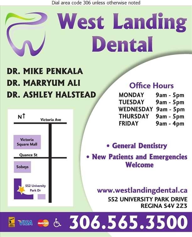 West Landing Dental Centre - Dentists Digital Ad