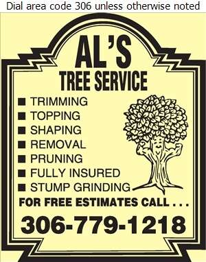Al's Tree Service - Tree Service & Stump Removal Digital Ad