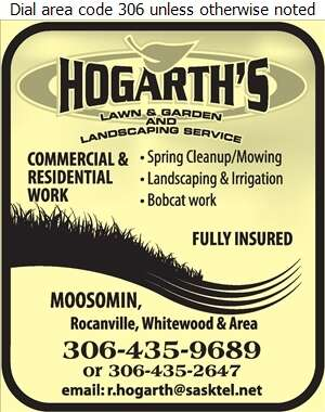 Hogarth Lawn & Garden Service - Landscape Contractors & Designers Digital Ad