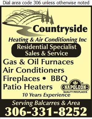 Countryside Heating & Air Conditioning Inc - Furnaces Heating Digital Ad