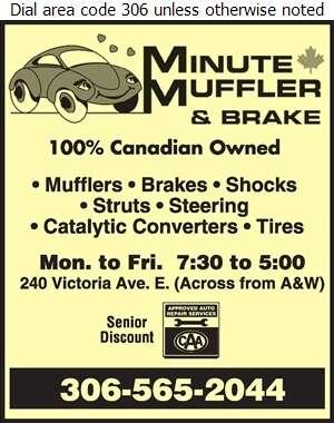 Minute Muffler & Brake - Auto Repairing Digital Ad