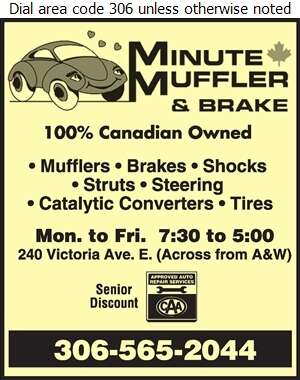 Minute Muffler & Brake - Mufflers Exhaust Digital Ad