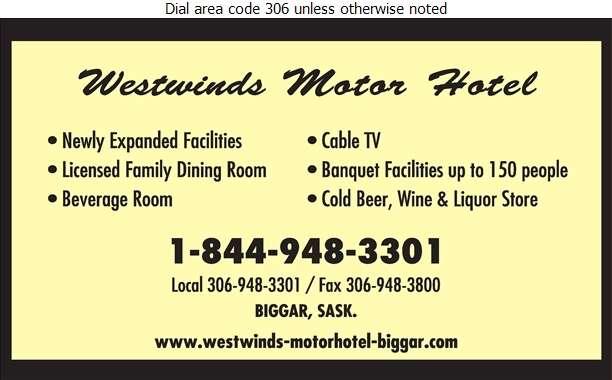 Westwinds Motor Hotel - Hotels Digital Ad