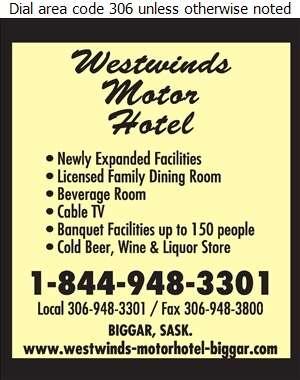 Westwinds Motor Hotel - Motels Digital Ad