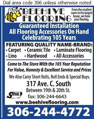 Bee Hive Flooring Group - Carpets & Rugs Retail Digital Ad