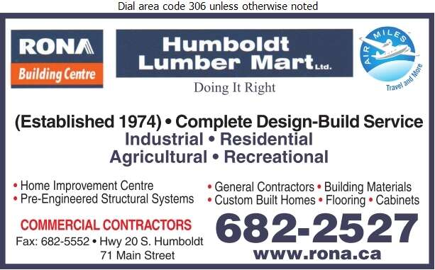 Rona Building Centre - Lumber Retail Digital Ad