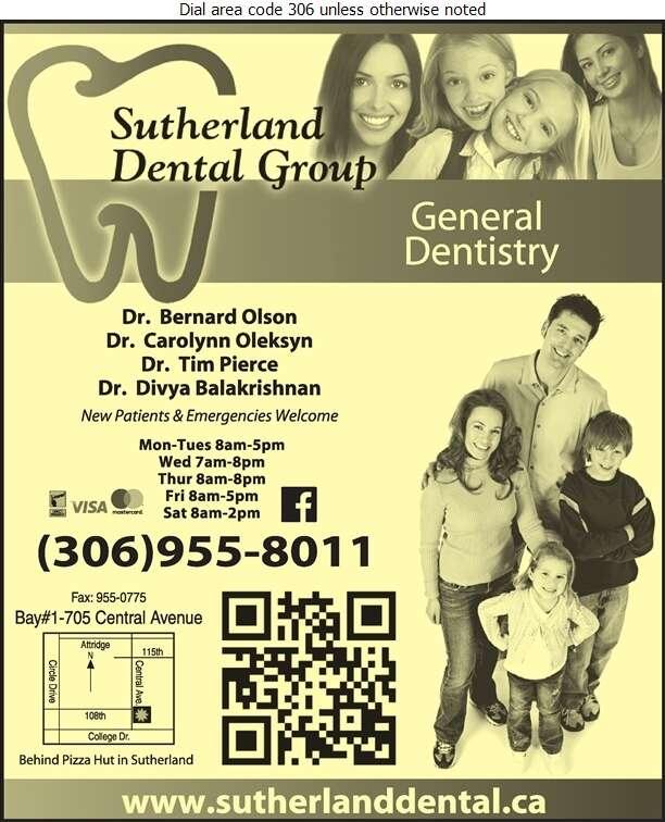 Sutherland Dental Group - Dentists Digital Ad