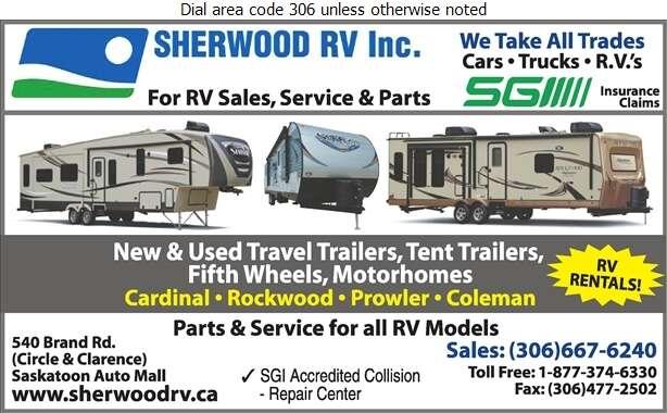 Sherwood R V (Fax) - Recreation Vehicles Digital Ad