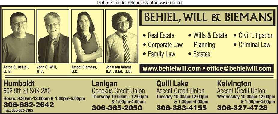 Behiel Will & Biemans - Lawyers Digital Ad