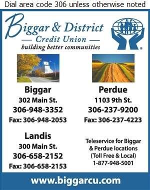 Biggar & District Credit Union - Credit Unions Digital Ad