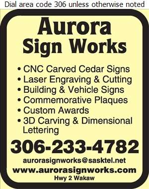 Aurora Sign Works - Signs Digital Ad