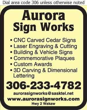 Aurora Sign Works - Signs Digital Ad