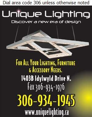 Unique Lighting - Lighting Fixtures Retail Digital Ad