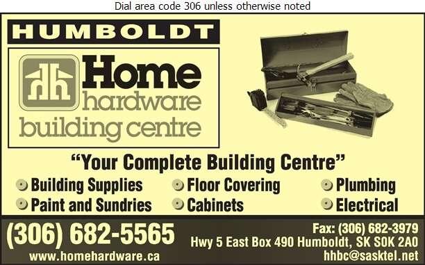 Humboldt Hardware Building Centre Ltd - Lumber Retail Digital Ad