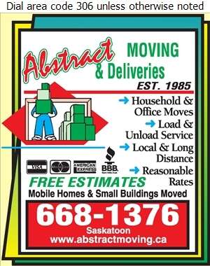 Abstract Moving & Delivery (1992) - Movers Digital Ad