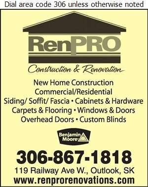 RenPro Renovations Inc - Contractors General Digital Ad