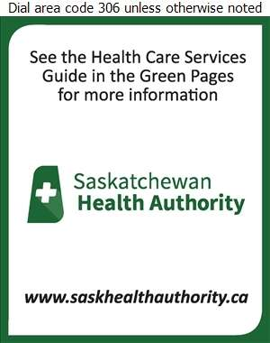 Saskatchewan Health Authority (See Green Pages Health Guide For More Information) - Health Care Services Digital Ad