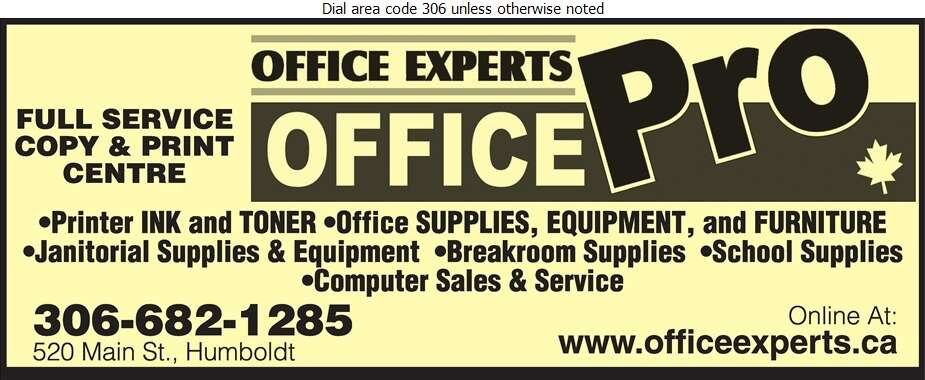 Office Experts Office Pro - Office Supplies Digital Ad