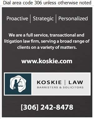 Koskie Law Office - Lawyers Digital Ad
