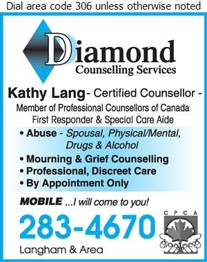 Diamond Counselling Services - Counselling Digital Ad