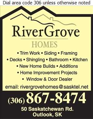 River Grove Homes - Contractors General Digital Ad