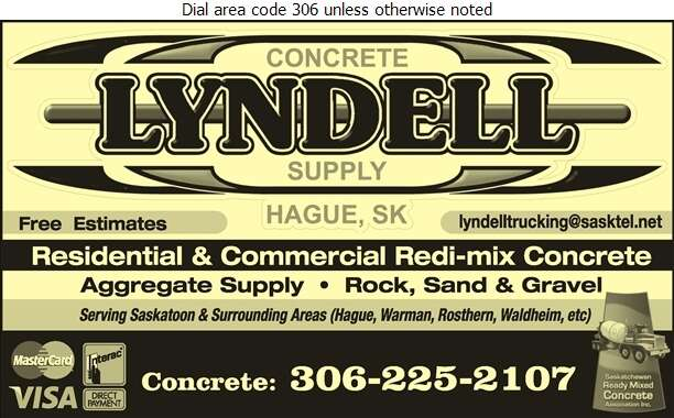 Lyndell Concrete Supplies - Concrete Ready Mixed Digital Ad