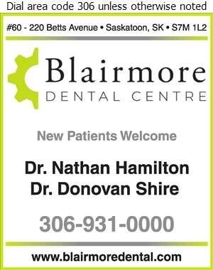 Blairmore Dental Centre - Dentists Digital Ad