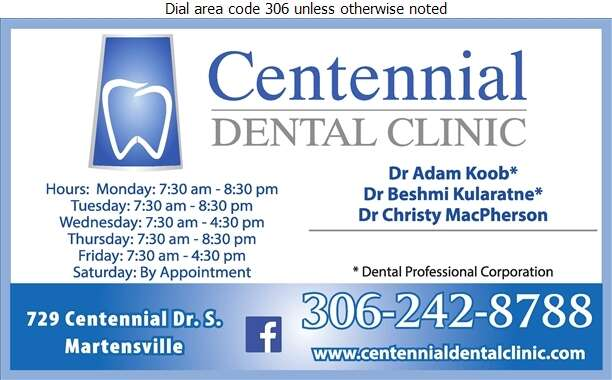 Centennial Dental Clinic - Dentists Digital Ad