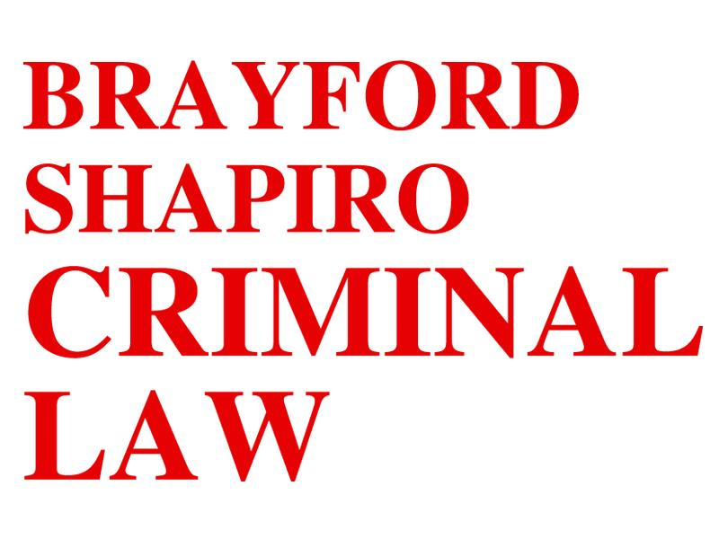 Brayford Shapiro - Criminal Law