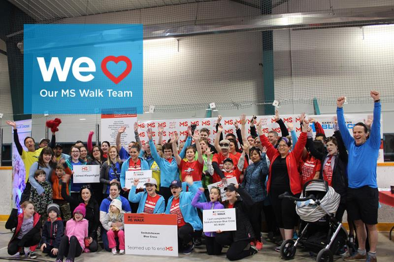 Saskatchewan Blue Cross MS Walk