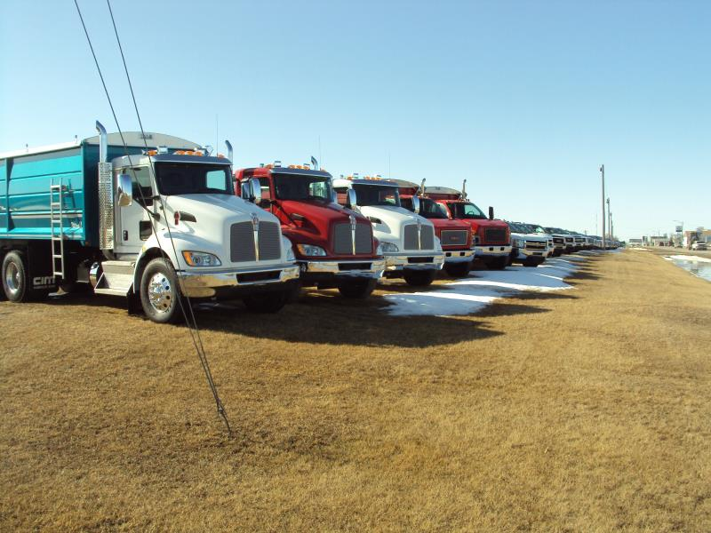 Medium Duty Grain trucks available at Watrous Mainline Motors GM Dealer