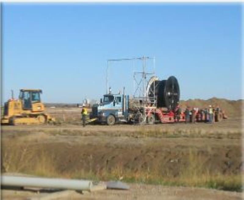 Maxie's Excavating - Saskatoon Electrical Conduit