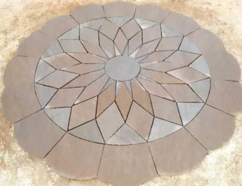 Deptuck's Landscaping - stone flower